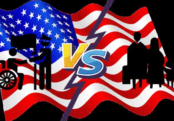 Veterans vs Illegal Immigrants