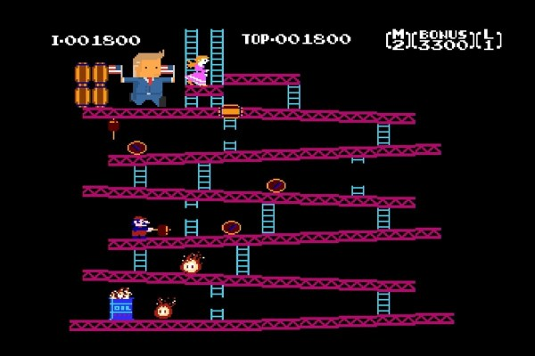 Satire: Nintendo Changes Donkey Kong to Donkey Drumpf in Games Citing Systemic Racism Changes
