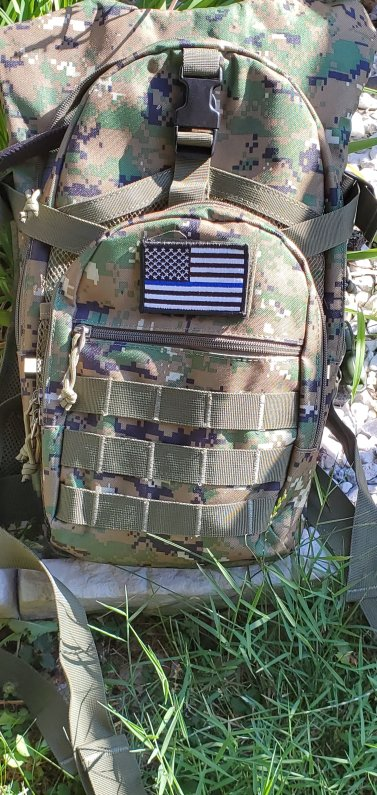 Review: Sharkmouth Tactical MOLLE Hydration Pack Backpack 900D