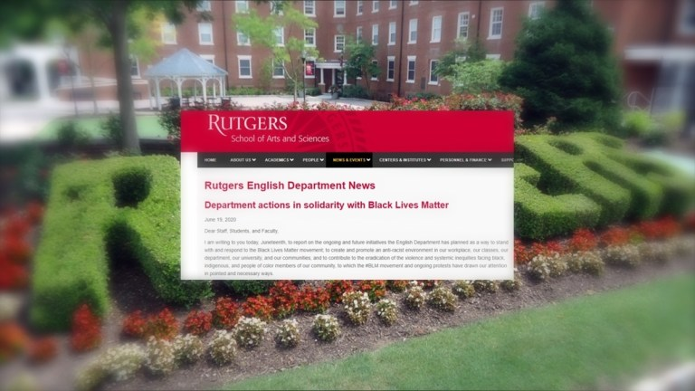 Rutgers Deems Grammar Racist