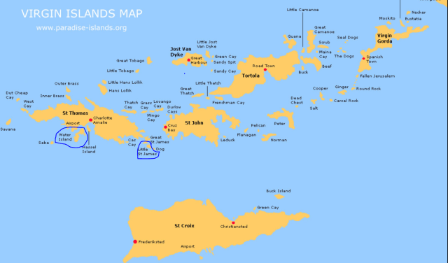 the islands of corruption
