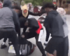 White attacked by group of blacks