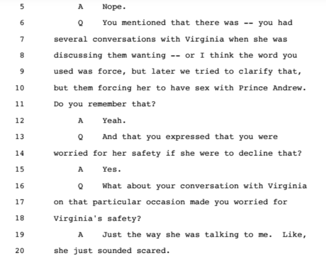 Investigation: The Accusations from the Ghislaine Maxwell Document Release: Part 2 1