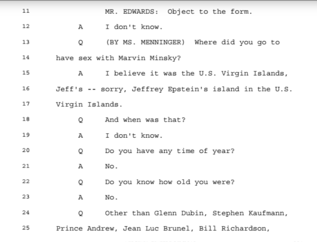 Investigation: The Accusations from the Ghislaine Maxwell Document Release: Part 2 4