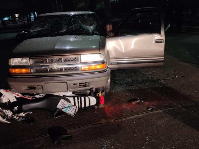 UPDATED: Truck Crashes Through Riots in Portland 8