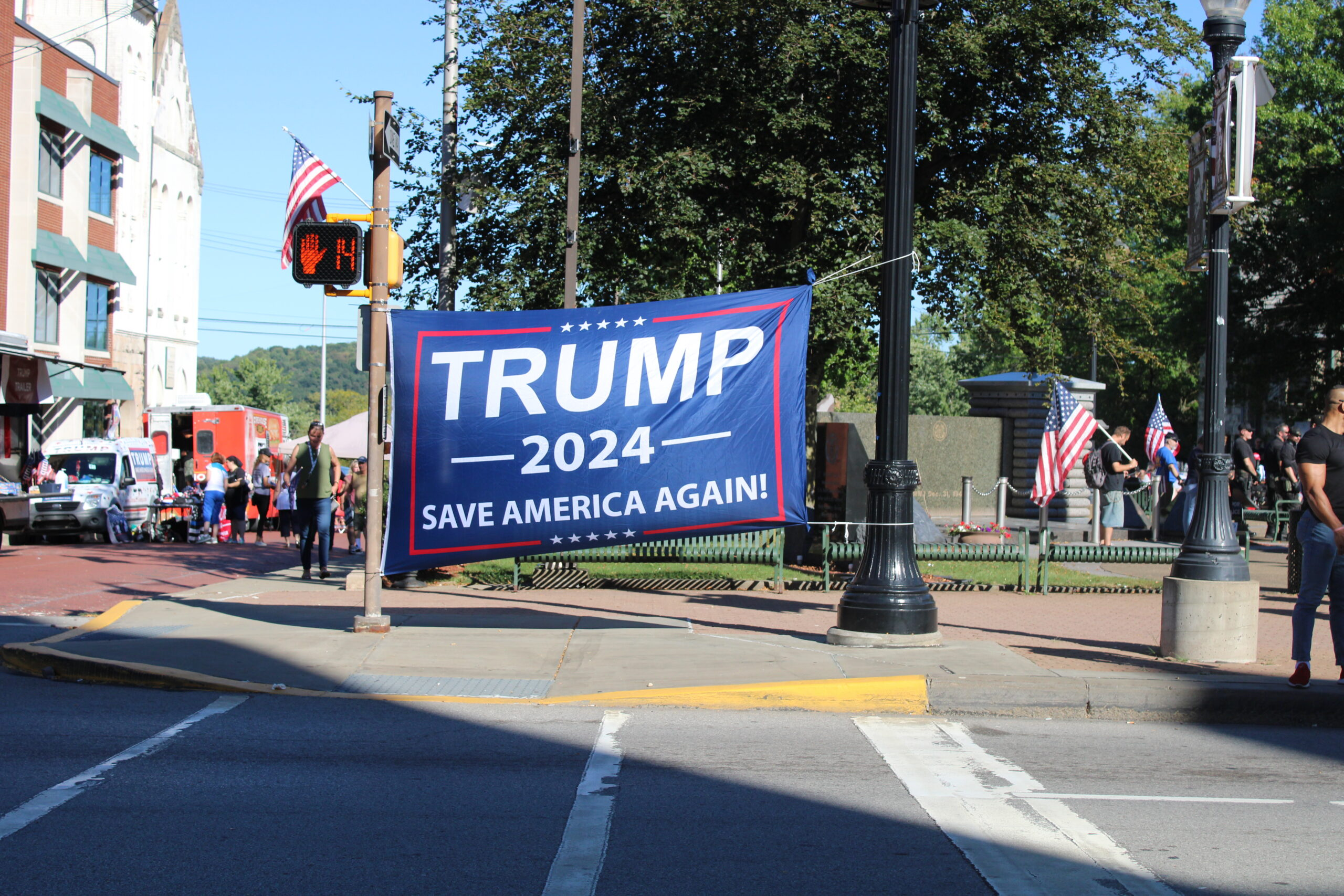 The America First Rally in Butler, PA 6