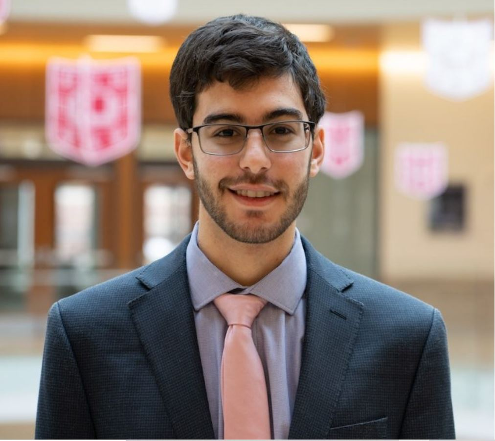 WU Student Senator, Fadel Alkilani, Caught Removing American Flags 2