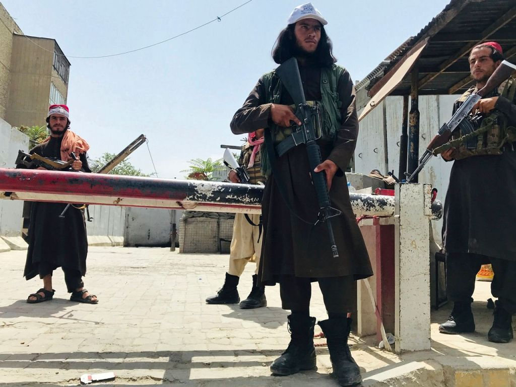 Taliban hold Americans hostage