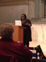 Rev. Peggy Howland, Monica Simpson of SisterSong