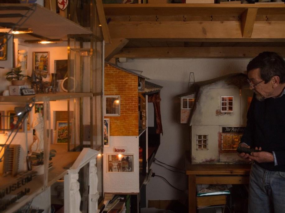 Günter Hoffmann im Atelier