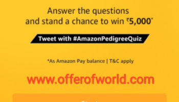 Amazon app todays contest answer offer world amazonpedigreequiz amazon pedigree quiz answer fandeluxe Gallery