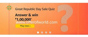 Amazon Great Republic Sale Quiz Answers