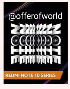 Amazon Redmi Note 10 Series Quiz Answers