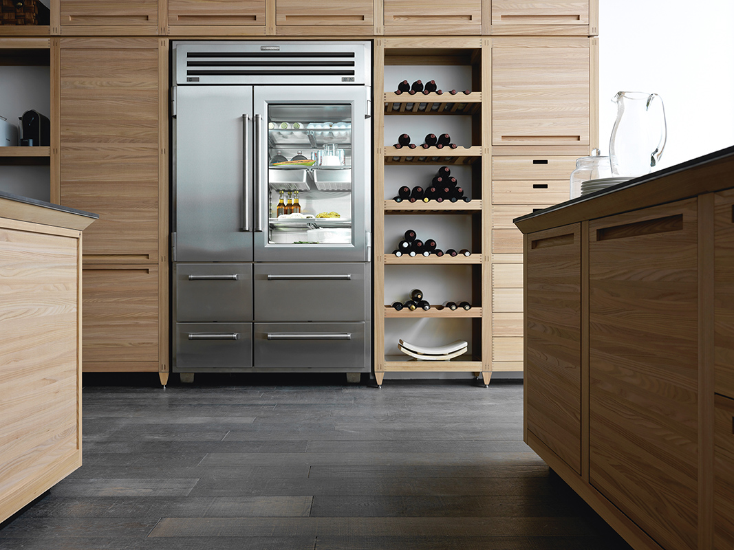 Sub Zero 48 Inch Built-in Side-by-Side Refrigerator