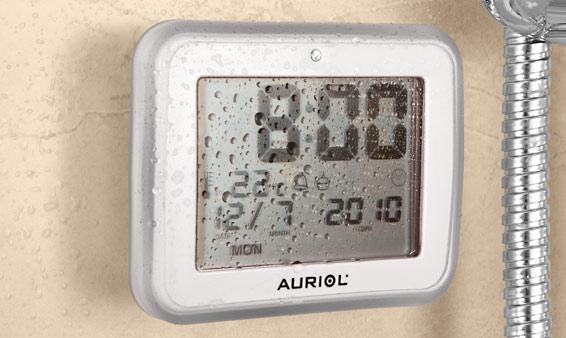 Horloge LCD pour salle de bains  Lidl  France  Archive des offres promotionnelles