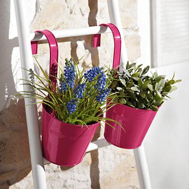 2 pots de fleurs  suspendre  Lidl  France  Archive des offres promotionnelles