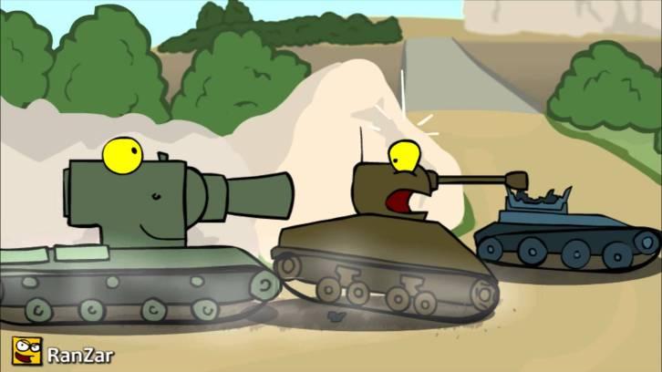 tanks crashing
