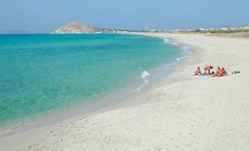 Naxos beaches, Kastraki beach
