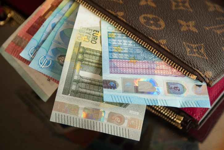 bank notes business cash close up