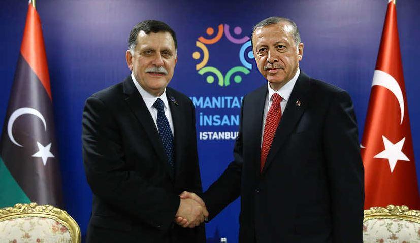 erdogan sarraj