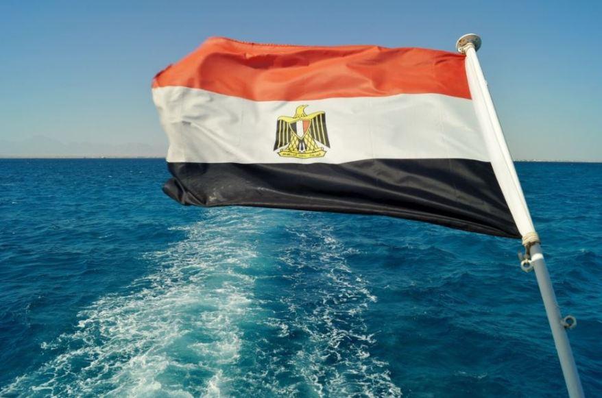 aigyptos simaia egypt flag