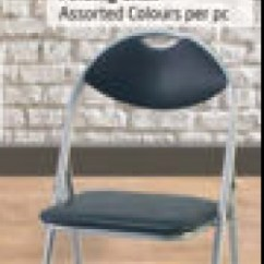 Folding Chair Lulu Revolving In Gem Assorted Colours Per Pc Offers