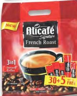 Alicafe Signature French Roast Coffee 25gx30 5 Carrefour