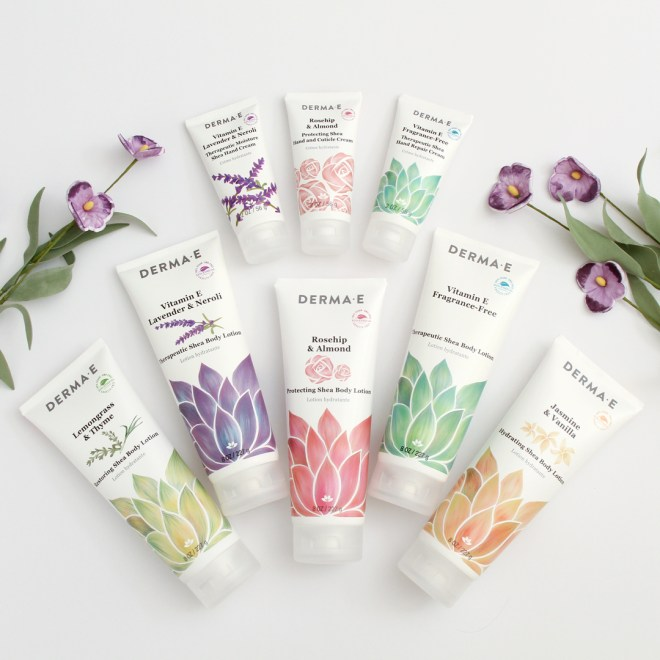 Free Sample of Derma-E Jasmine and Vanilla Lotion