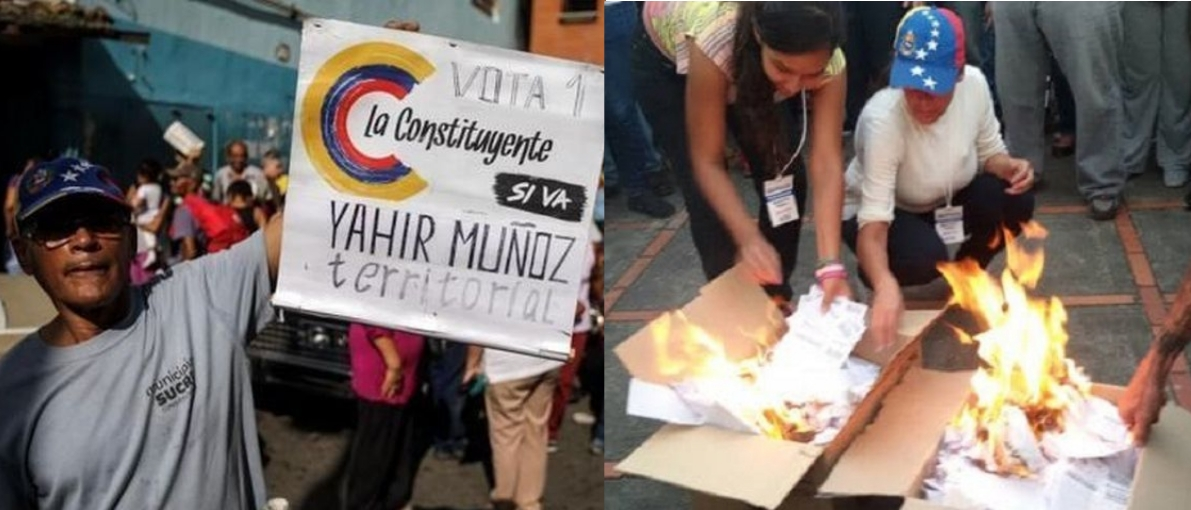 """Venezuelan opposition """"consultation"""": playing alone and losing"""