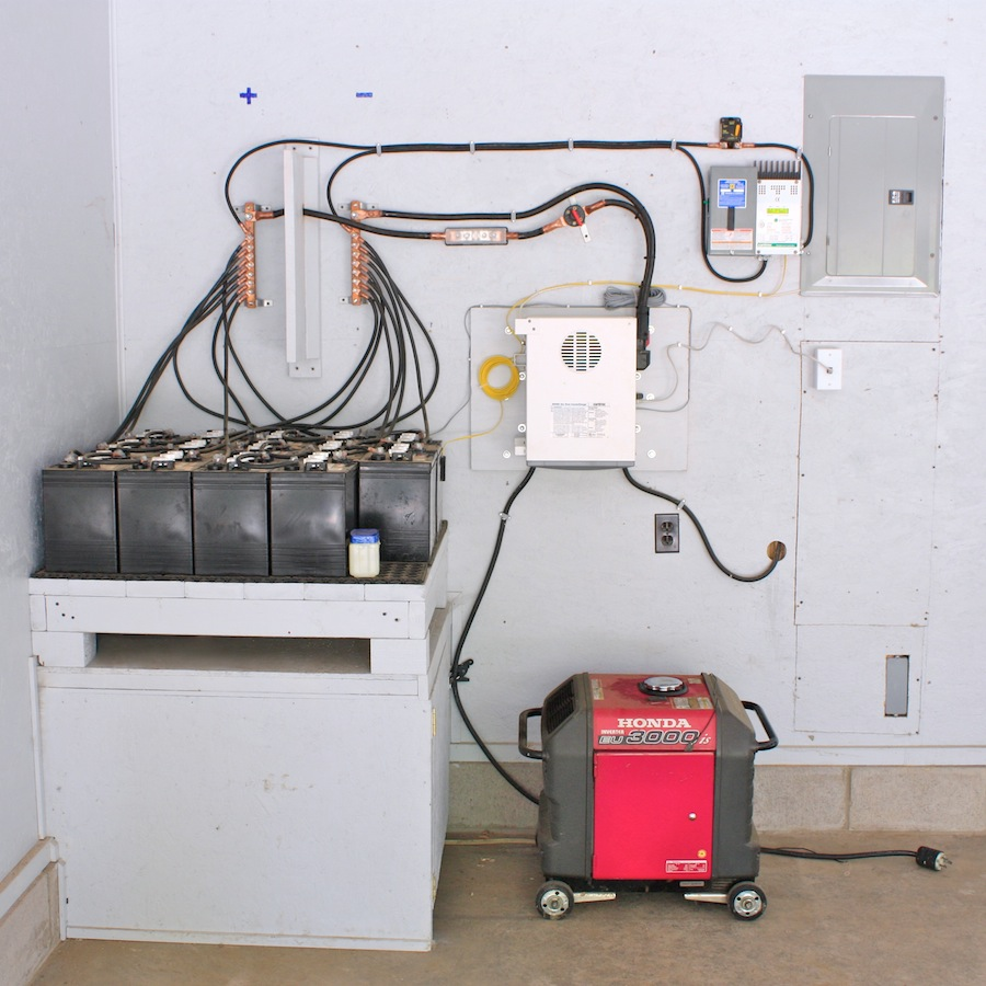 For Off The Solar Wiring Diagram Grid Home Provides Panel Wiring