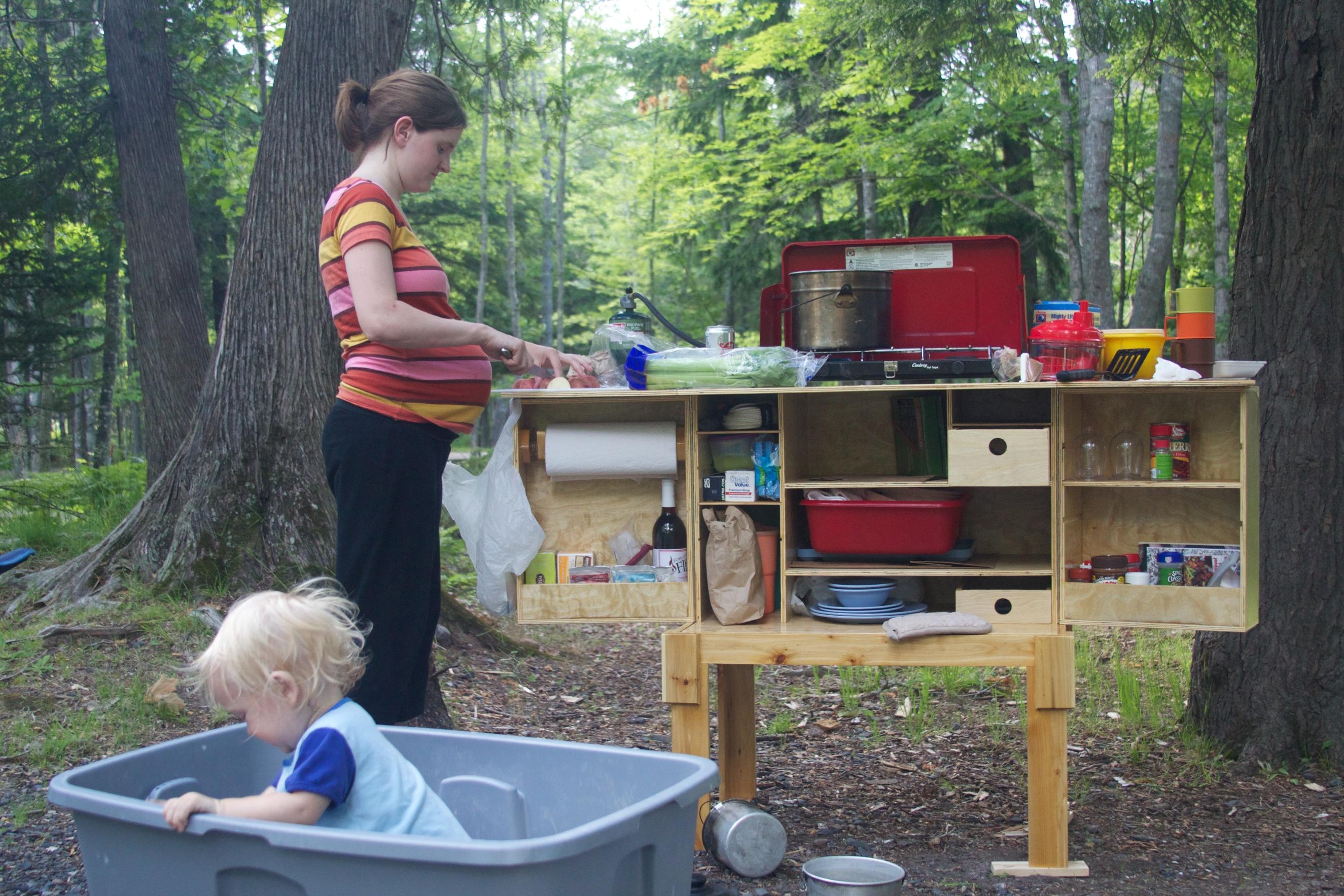 Camp Chuck Box  offgridcabin