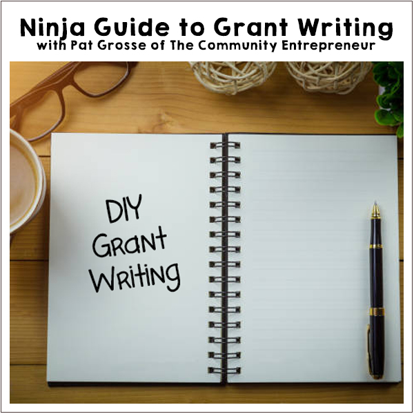 Grant Writing Business Workshop with Pat Grosse