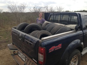 Virginia and the Finn bring more tires