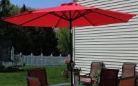 Solar Lighted Patio Umbrellas: 10 Cool Solar Patio Umbrellas