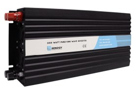 Renogy 2000W 12V Off-Grid Pure-Sine Wave Battery Inverter