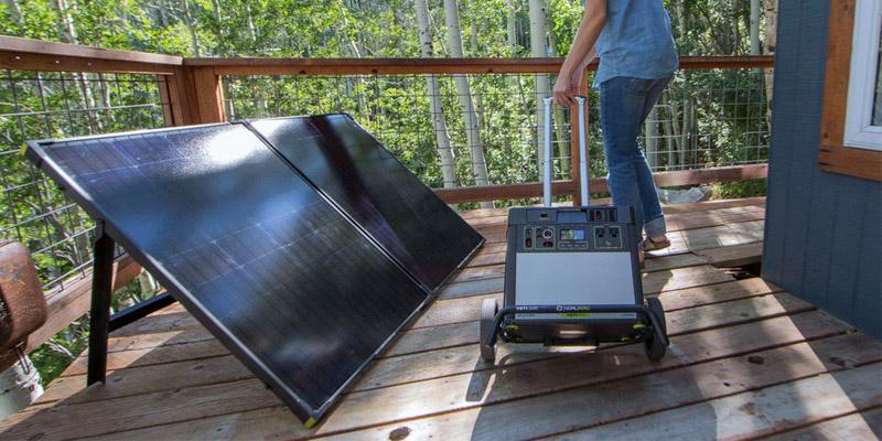 Goal Zero Boulder Briefcase solar chargers