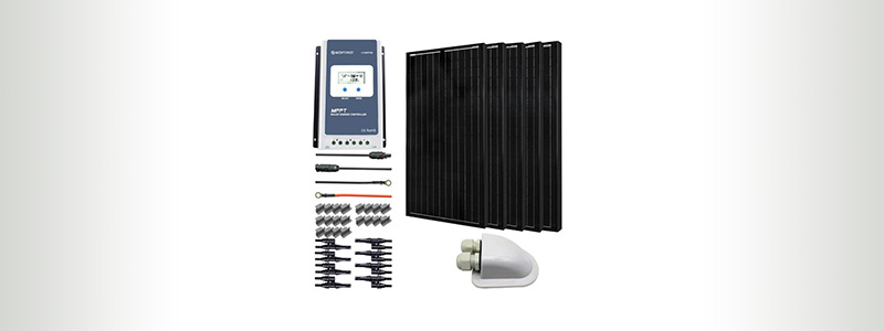 AcoPower 500W Mono Solar RV Kit
