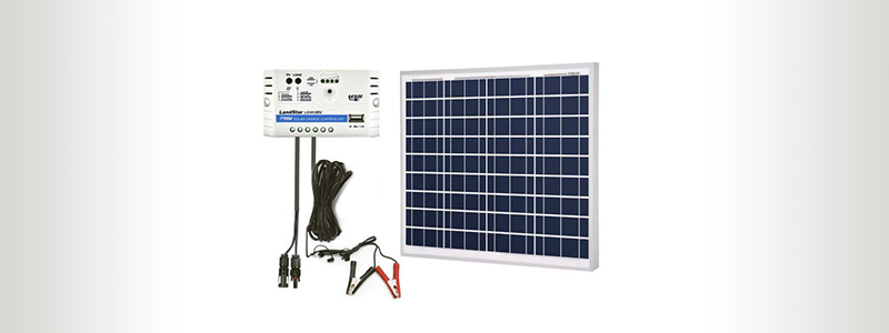 AcoPower 50W Solar Panel Kit