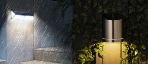 Best Solar Wall Lights in UK: 7 Most-Selling and Best Outdoor Solar Wall Lights