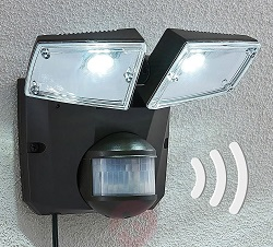 Lampenwelt Ignaz LED Solar Spotlight