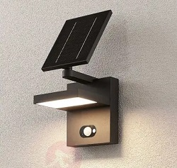 Lampenwelt Silvan Solar LED Outdoor Wall Lamp