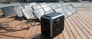 Maxoak Bluetti 1700Wh Solar Generator: High-Capacity 2000W Portable Solar Power Station