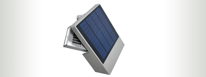 Eco-Light Ghost Solar LED Wall Light