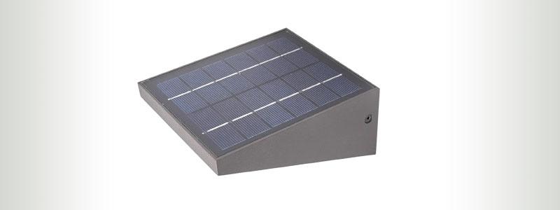 LUCANDE SOLAR OUTDOOR WALL LAMP 150Lumens