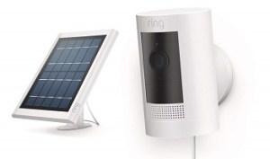 RING STICK UP CAM SOLAR SECURITY CAMERA