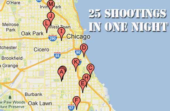 shooting map