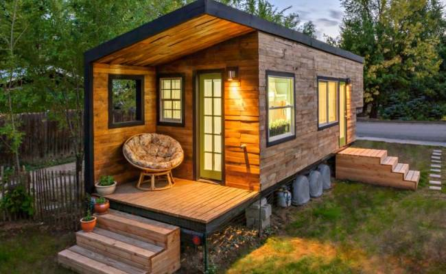 Woman Builds Mortgage Free Tiny House For 11k Off Grid