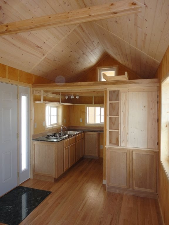 Gorgeous Little 200sqft Cabin Built by Father  Son  Off Grid World