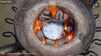 Melting Aluminum Cans With $20 Homemade Mini Metal ...