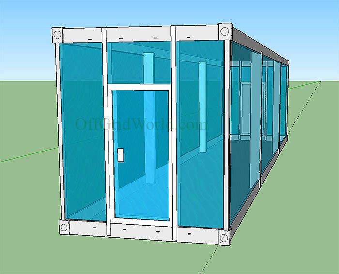 Solar Powered Vertical Garden A Stackable  Portable